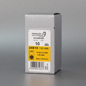 Hörgerätebatterien Päckchen