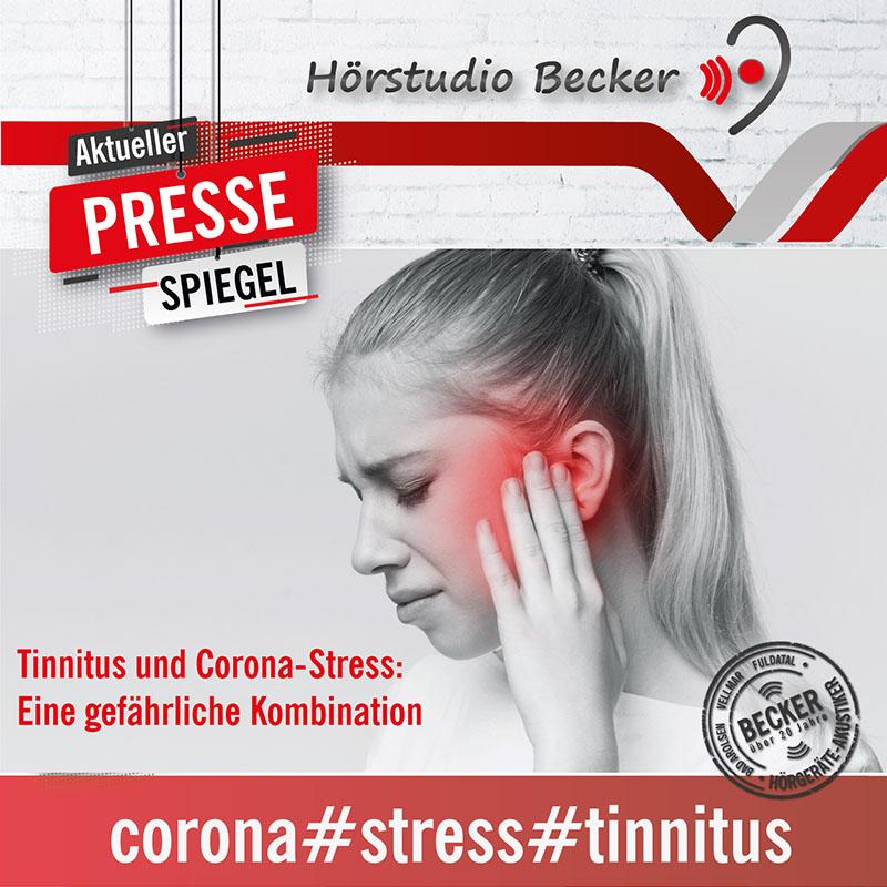 Tinnitus und Corona-Stress: Eine gefährliche Kombination