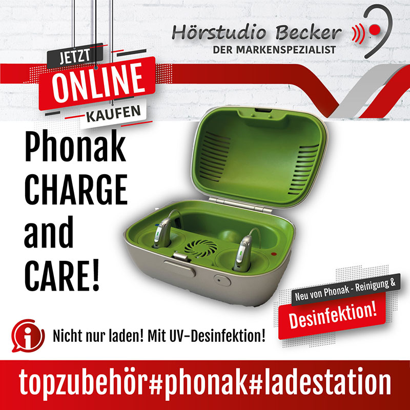Phonak Charge and Care – Lade- und Trocknungsstation